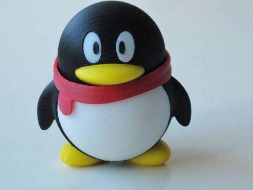 腾讯QQ企鹅吉祥物公仔玩具情人节礼物情侣送人