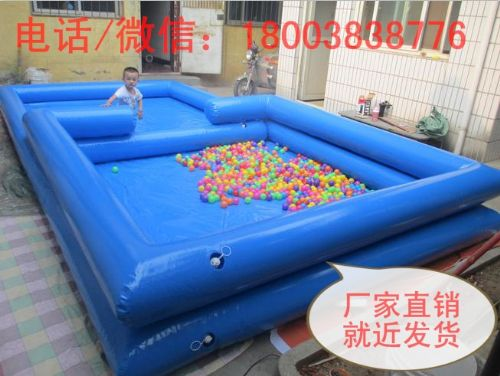 儿童游乐园充气沙滩池