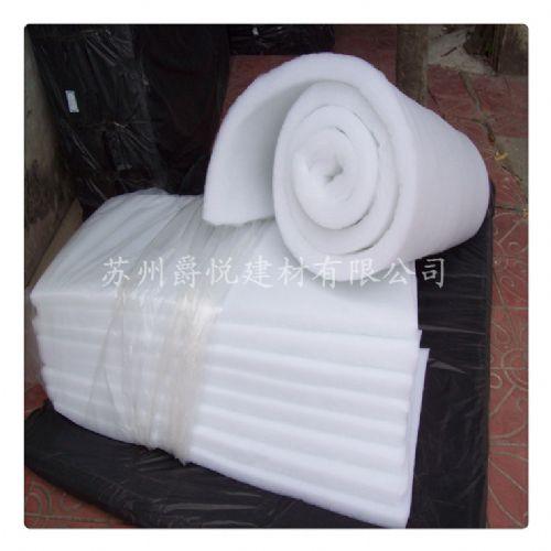 环保白色25mm厚 聚酯纤维吸音棉隔音棉消音棉墙体