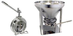 NDV阀门粉粒体排出用:卫生级蝶阀