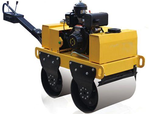 手扶式双轮压路机 供应小型压路机