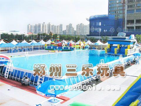 大型支架水池订做  重庆儿童支架游泳池