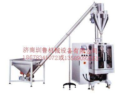 供应天津袋装奶茶包装机-保定面粉包装机-济南圳鲁