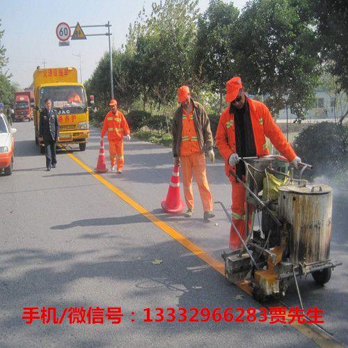深圳道路划线 通道划线 公路热熔标线 标志线 承接各种道路划线