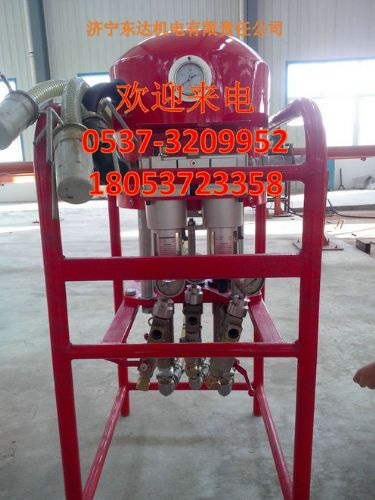 供应东达煤矿用气动双液注浆泵全国第一品牌