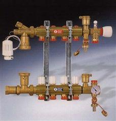 R557带混水中心分集水器