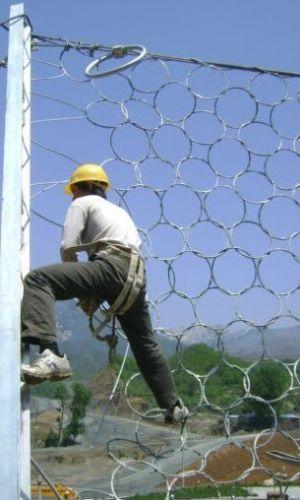 RXI-075山坡拦石网环形被动网