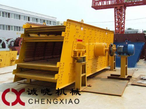 郑州诚晓机械圆振动筛广东可用于粗碎、中碎、细碎和粗磨,