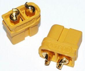 XT60U香蕉头连接器防水插头