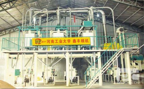 河南鑫丰面粉加工设备厂家