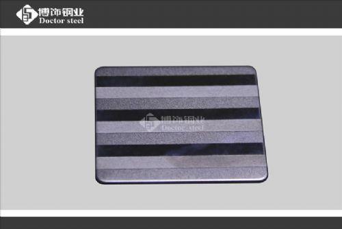 喷砂组合工艺不锈钢蚀刻板