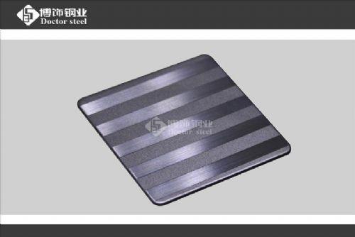 喷砂拉丝不锈钢蚀刻板
