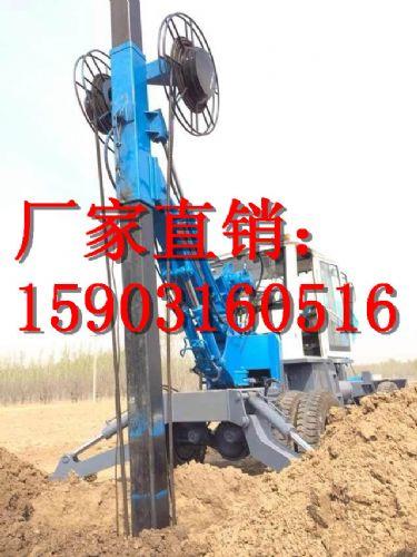 德派尔厂家专业改装轮式旋挖钻