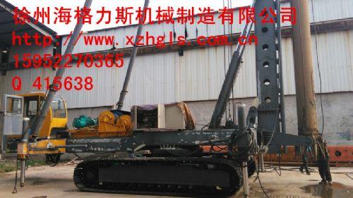 国外碎石打桩机施工机械