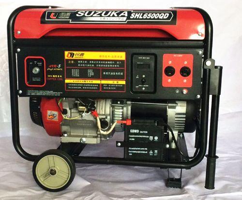 5KW家用小型汽油发电机