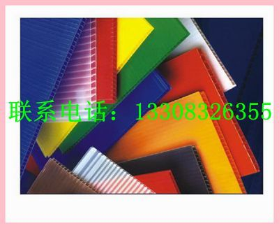 重庆中空板展示架 中空板订做