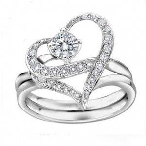 """戒指 """"幸福指环""""珠光宝气黎姿一款三戴可拆分-月光爱人"""