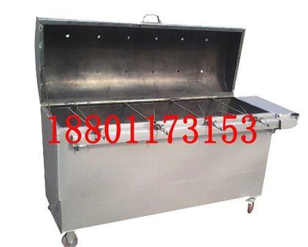 卧式烤羊排机|木炭烤羊排炉|实惠耐用烤羊排机