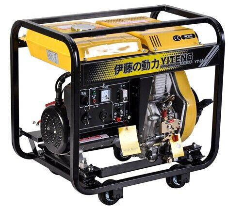 5KW单相柴油发电机伊藤YT6800E