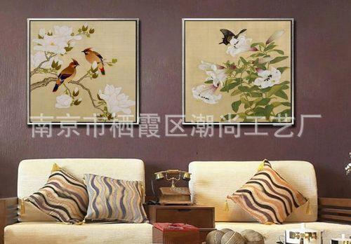 中式专业花鸟国画