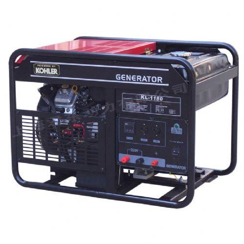野外施工美国科勒单相18KW汽油发电机