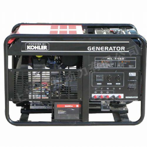 美国科勒三相12KW汽油发电机抢修抢险用