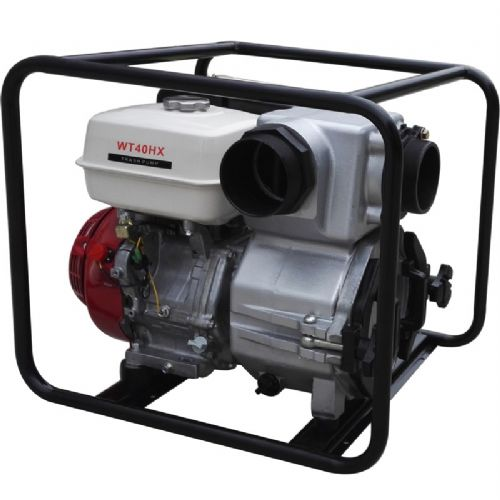 市政排污4寸本田动力WT40HX汽油重力污水泵