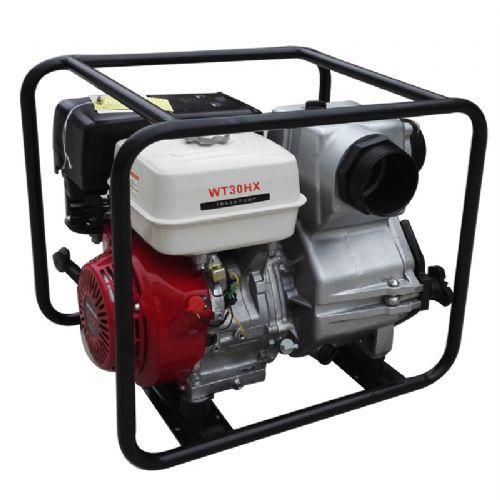 防汛用3寸本田动力WT30HX汽油泥浆泵