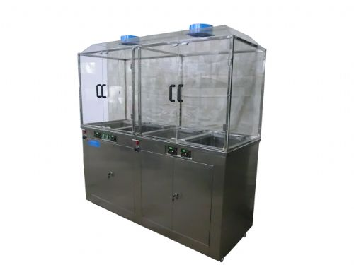双频环保型雷士超声波四槽式清洗机