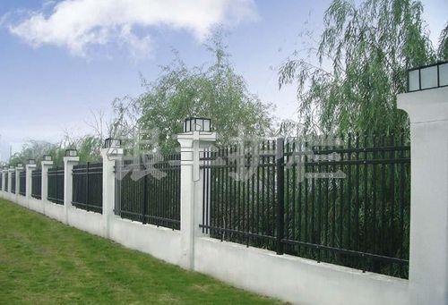河南新乡锌钢护栏、防护栏 围墙护栏,隔离栅栏