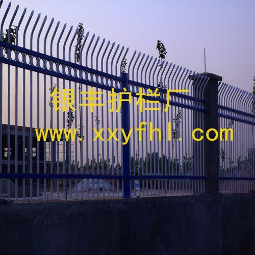 河南新乡锌钢围墙护栏 围墙护栏 建筑护栏 连接配件