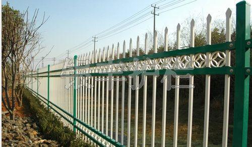 河南新乡建筑围栏围墙护栏、锌钢隔离护栏、小区围栏