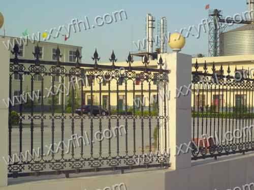 河南新乡静电喷塑护栏 安全防护栏 厂区建筑屋顶围栏