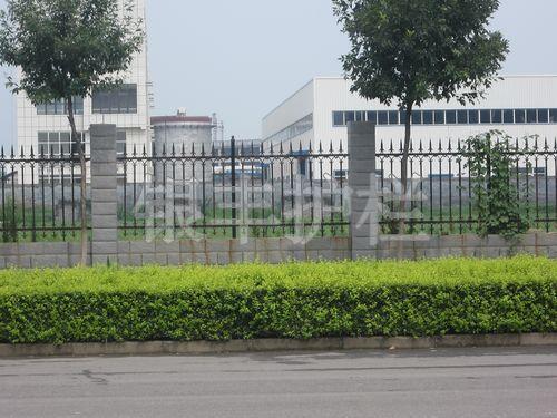 河南新乡 189.批发锌钢围墙护栏锌钢花型围栏 工厂防护栏杆工程