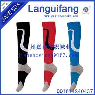 足球袜长筒袜男款女款加厚毛巾底耐磨防滑运动长筒袜子