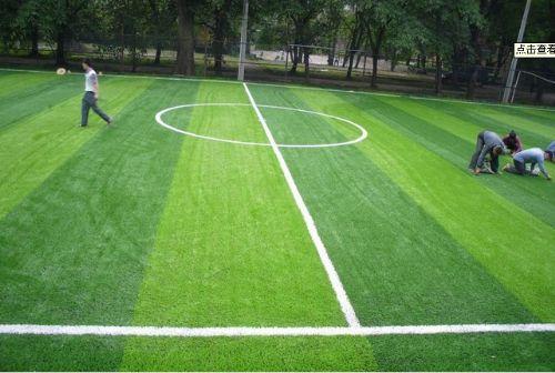 济南人造草坪足球场 室内五人制足球场施工 人工草皮 厂家铺设