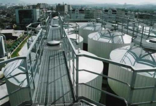 电厂钢格栅板_电力钢格板平台_安平平台钢格板【精造】