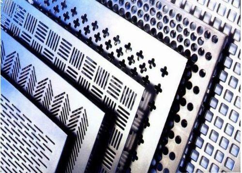 墙体装饰|楼梯两侧挡板冲孔网|汽车4S销售店外墙装饰冲孔网