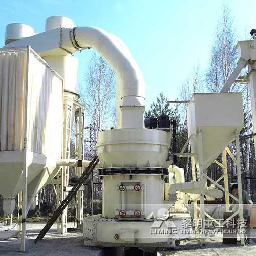 TGM-160高压力梯形磨碎机 石灰石加工生产线