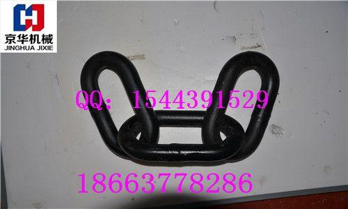 供应焊接三环链 无缝锻打22×105 矿车三环链