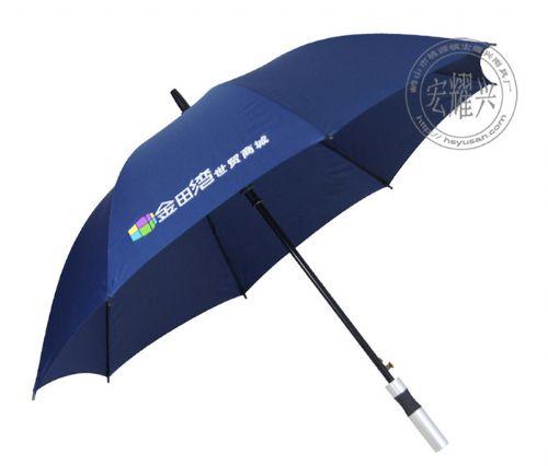 深圳广告伞定做酒店银行雨伞订制长柄广告伞厂家
