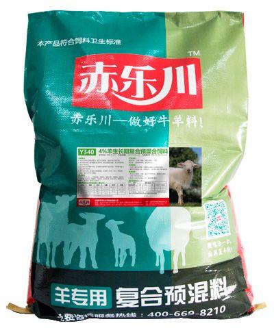 赤乐川4%小羊羔羊生长期复合预混合饲料