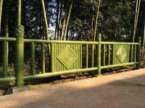 大量供应环保艺术亿豪仿竹围栏护栏图片_价格