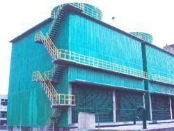 冷却塔、四川冷却塔、逆流式冷却塔、玻璃钢制品、冷却塔配件、污水处