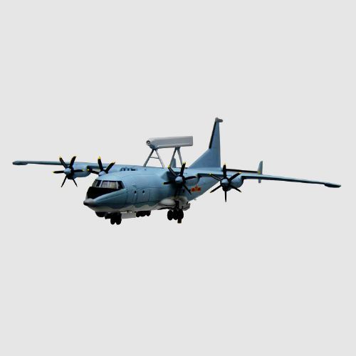 金属KJ200预警机飞机模型