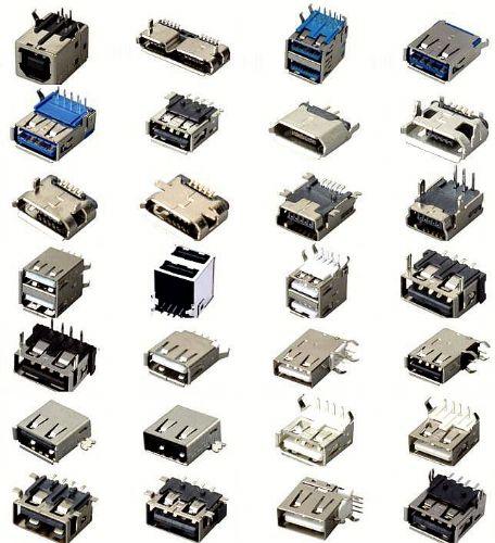 usb接口功能电路定义-usb插口实际方案-usb插座定身