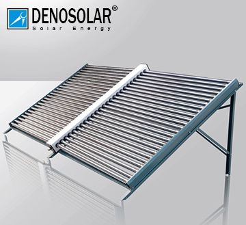 德诺太阳能集热模块 别墅洋房太阳能热水工程 酒店热水工程联