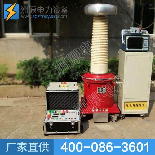 轻便式气体试验变压器产品介绍