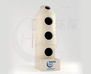 工业发电机组尾气处理原理 发电机组尾气治理塔采用