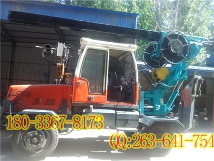 地基打桩机轮式160马力轮式旋挖钻 旋挖桩机 桶钻 轮式两驱旋挖